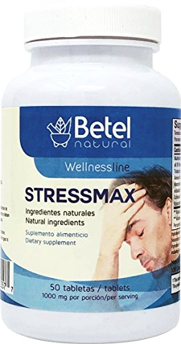 Stress B-complex 50 Tab - Stressmax Tablets by Betel Natural - Anxiety and Stress Relieving - 50 Tablets