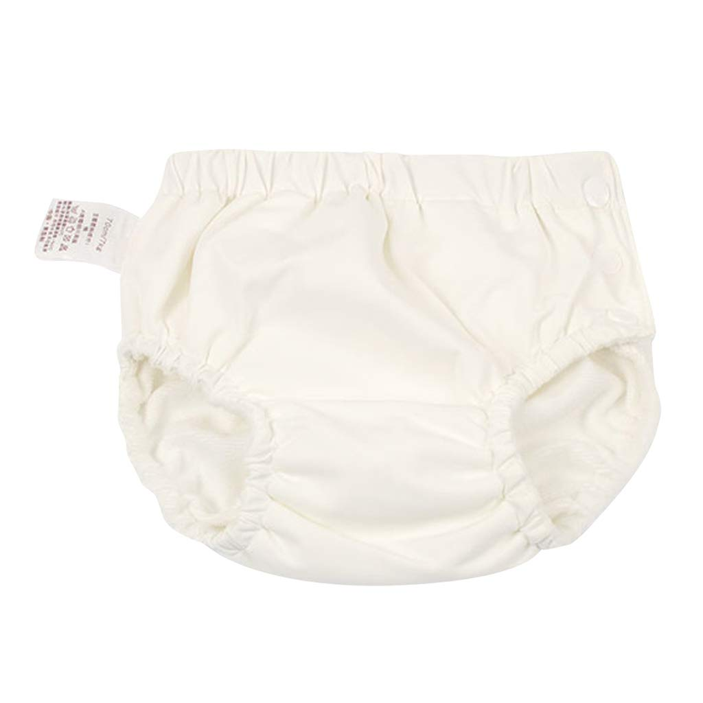 for14-16KG D DOLITY Baby Reusable Swim Pant Diapers Waterproof Pool Pant Swimming Lessones as described Rose red