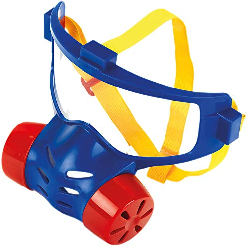 Theo Klein 8930 Henry Firefighter Protective Mask, Toy, Multi-Colored