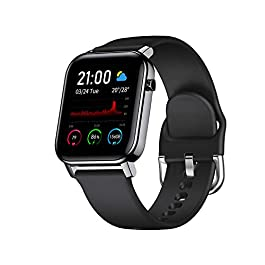 Smart Watch for Android and iOS Phone with 1.4″ Touch Screen, Activity Fitness Tracker Heart Rate Sleep Monitor,IP68 Waterproof Pedometer Smartwatch Step Counter for Women and Men