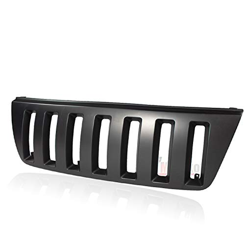 Bumper Precision Grilles Grills - Fit 1999-2004 Jeep Grand Cherokee Vertical Style Front Bumper Grill Grille Black