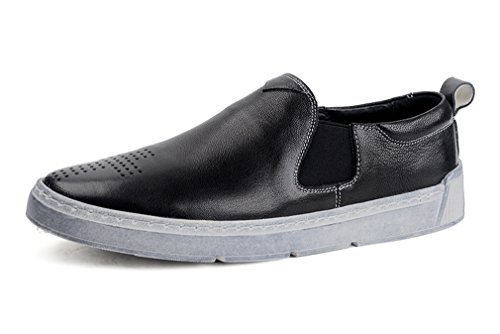 FARYM Men's Slip on Leather Penny Loafers Driving Shoes 3...