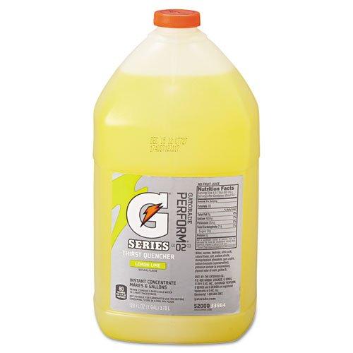 Gatorade Liquid Concentrate, Lemon-Lime, 1 Gallon Jug - four bottles.