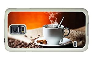 Hipster online Samsung Galaxy S5 Cases hot coffee cinnamon PC White for Samsung S5