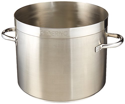 Paderno World Cuisine ''Grand Gourmet'' Stainless-steel 15-1/4-Quart Low Stockpot by Paderno World Cuisine