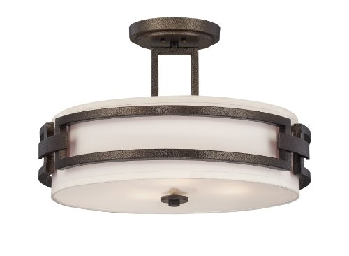 Designers Fountain 83811-FBZ Del Ray Ceiling Lights, Flemish Bronze