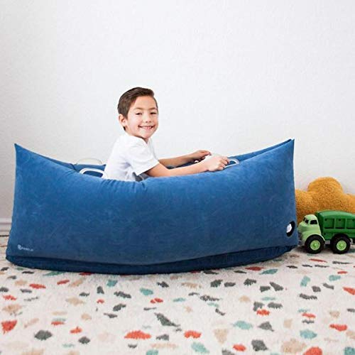 Harkla Hug (48 inches) - Inflatable Peapod for Children with Sensory Needs - Great Sensory Product for Ages 2 to 6 - Occupational Therapy Tools, Sensory -