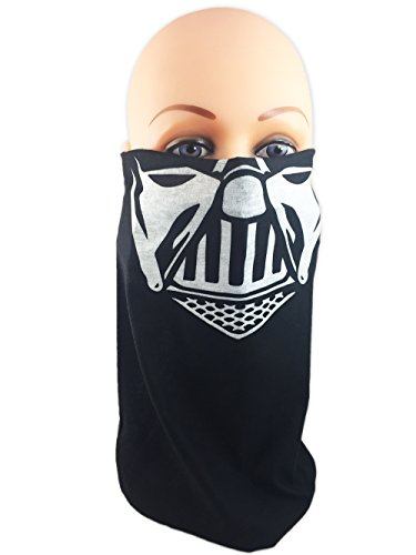Darth Vader Face Mask (Star Wars Tube Face Mask, Balaclava, Neck Gaiter, Bandanna (Darth Vader))