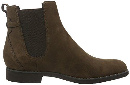 Rockport Damen Alanda Chelsea Boots Braun (Ebano Nubuck)