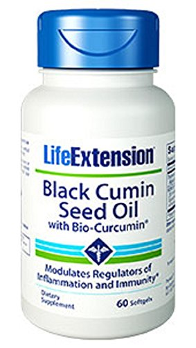 Life Extension Black Cumin Seed Oil with Bio Curcumin 60 Softgels ()