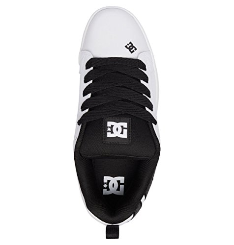 couleurs Multi Se Shoes Black Court Dc Skateboard white De Chaussures white Graffik Homme qpF8z6