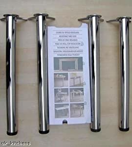 Adjustable table legs - Kitchen Accessories: Amazon.co.uk
