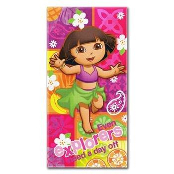Northwest Enterprises Dora Summer Salsa Beach - Dora Explorer Towels The