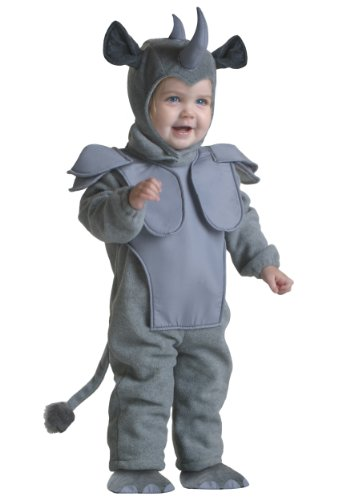Fun Costumes boys Little Boys' Toddler Rhino Costume 2T (Lion Costume 2t)