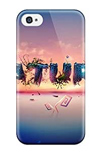 Cute High Quality Iphone 4/4s Nature Typography Case