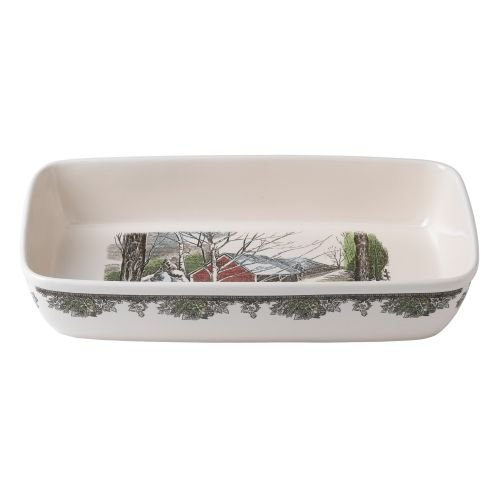 Johnson Brothers Friendly Village Rectangular Baker