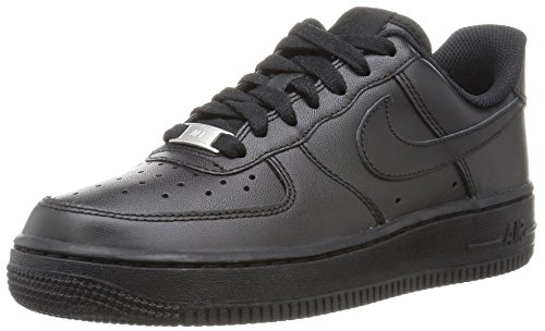 1 Basketball Air Scarpe Force Nike Donna da 038 Wmns '07 Black Nero Black F0ZtqA