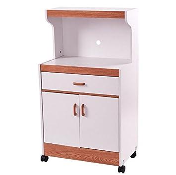 Amazon.com: HPW - Estante de almacenamiento para microondas ...