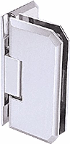 C.R. LAURENCE M0N044SC CRL Satin Chrome Monaco 044 Series Wall Mount Offset Back Plate Hinge ()