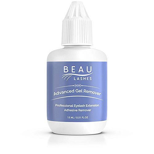 Advanced Remover Gel for Professional Eyelash Extension Glue | Quickly and Easily Removes Individual Semi Permanent Lashes and Works Well on Even the Strongest Adhesives | Scented Cool Blue (Eyelash Adhesive Remover)