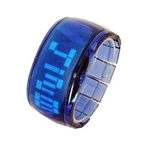 Stylish Digital Bracelet Style Watch with LED Lights Unisex