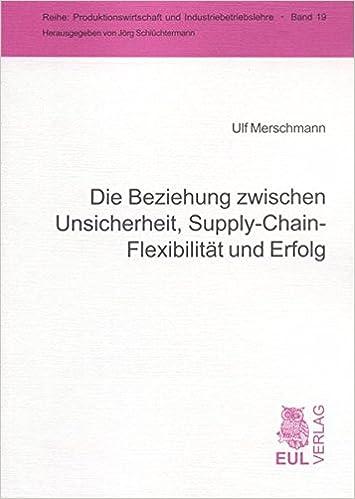 Die Beziehung Zwischen Unsicherheit Supply Chain Flexibilität Und