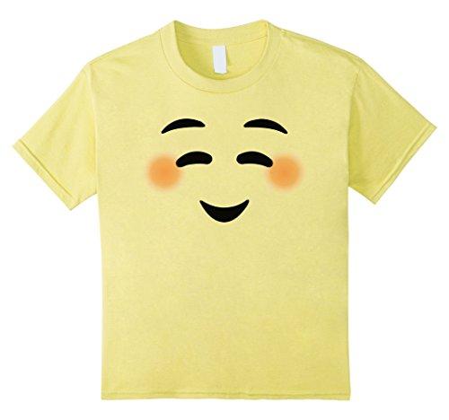 [Kids Halloween Costume Funny Yellow T-Shirt 4 Lemon] (Halloween Costumes Yellow Tshirt)