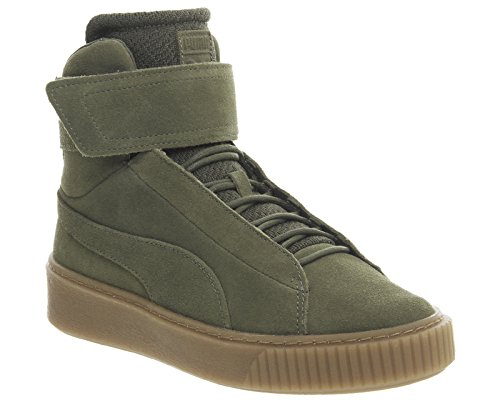 OW W Night Mid chaussures Night Olive Olive Platform Puma qSwUx6t