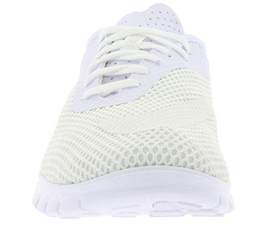 Nike Free Hypervenom Low - Zapatillas de deporte Hombre Blanco (Blanco (White/White-Metallic Silver))