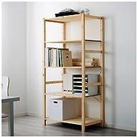Ikea Shelf unit, pine, 35x19 5/8x70 1/2  , 34382.22023.2014
