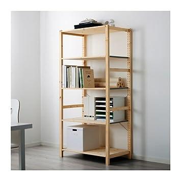 IKEA – estantería, pino, 35 x 19 5/8 x 70 1/