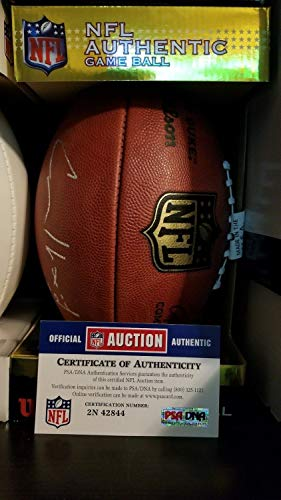 aphed Signed The Duke Official Game Football Psa/Dna Coa ()