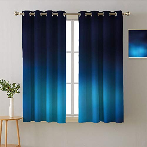 ScottDecor Curtain Darkening Blackout Grommets Darkening Darkening Curtains Woven Darkening Curtains Microfiber Darkening Curtains Room/Bedroom(2 Pieces, 27.5