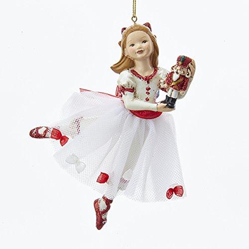 Kurt Adler 5-1/2-Inch Resin Clara Nutcracker Suite Ornament (Ballet Ornament Nutcracker)