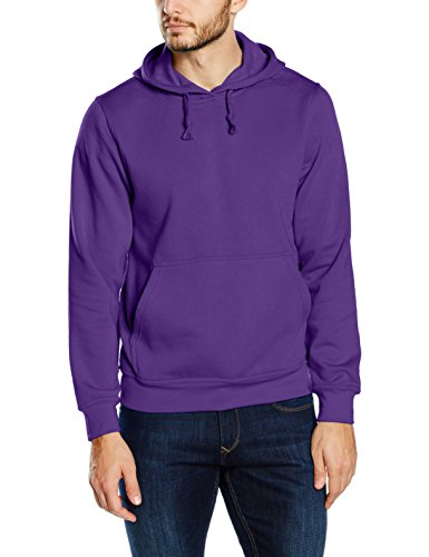 Hombre Lilac Con bright Para Capucha Clique Basic Morado Sudadera CfvqwnR