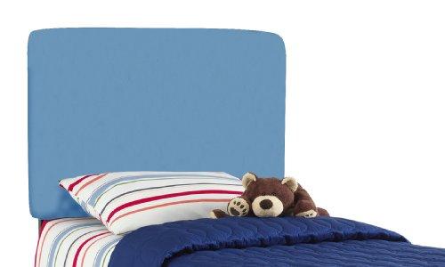 Skyline Furniture Aaron'S Full Kids Headboard By In Gazebo Light Blue Cotton by Skyline Furniture