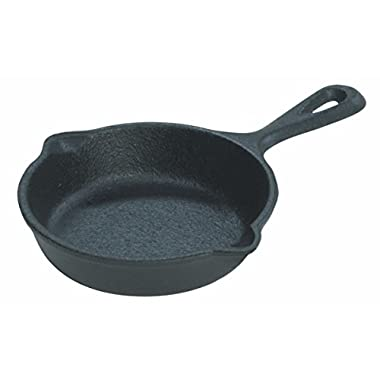 Lodge LMS3 Miniature Skillet, 3.5-inch - Pack of 4