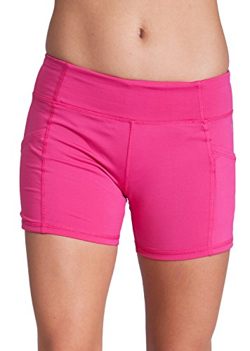 Ladies Active 2 Pockets Legging Shorts, Multiple Colors Available