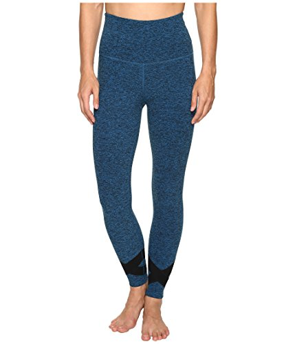 慈悲プロフェッショナル温かい[ビヨンドヨガ] Beyond Yoga レディース X Big Thing Leggings ボトムス Black/Tidal Blue Spacedye XL (US 12-14) [並行輸入品]