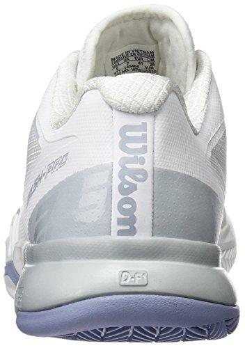 White Blue Donna Bianco Wrs3230 da Pearl Scarpe Tennis Stonewash Wilson O6v8Ywx