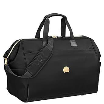 Delsey Paris Montrouge 50 Cabin Duffle Bag Travel Duffles, Black (00201841000)