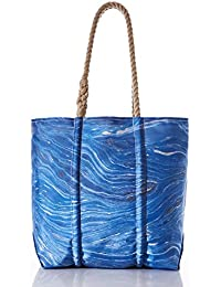Recycled Sail Cloth Tidal Currents Tote