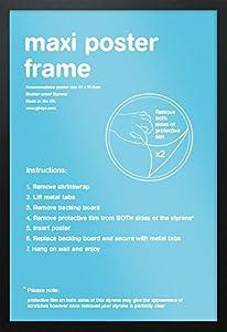 GB Eye Black Maxi Poster Frame - 61cm x 91.5cm: Amazon.co.uk ...