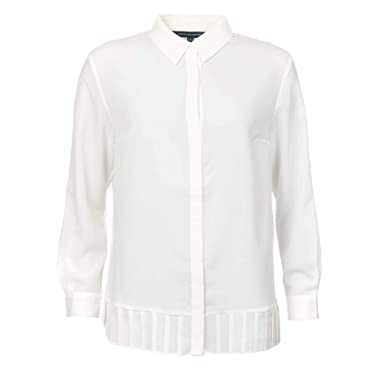 51e2d7dd13d French Connection - Crepe Light Pleat Shirt