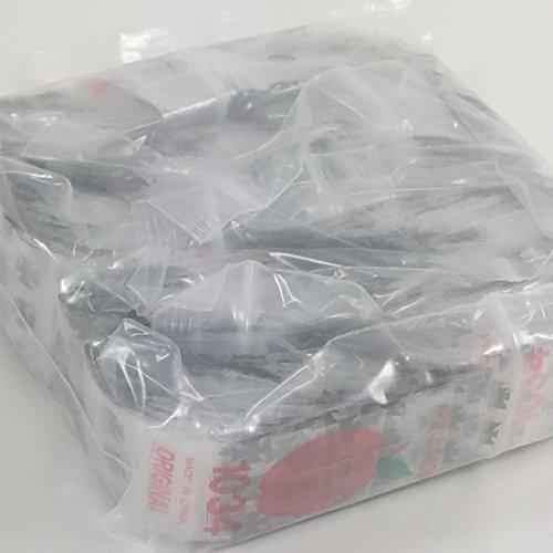 1034 Original Mini Ziplock 2.5mil Plastic Bags 1″ x 3/4″ Reclosable Baggies (Iron Cross/Chopper) Bulk