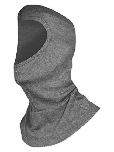Magid Safety ARH650GY Balaclava | 6.5 oz. AR Defense NFPA 70E HRC / CAT 2 ASTM D6413 Compliant Balaclava - 8.2 cal/cm2 ATPV Arc Rating, One Size Fits All, Gray (1 Balaclava)