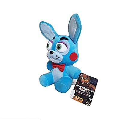 PampasSK Movies & TV 18cm Five Nights at Freddy's 4 FNAF Bonnie Rabbit Plush Toys Soft Stuffed Animals Toys Doll for Kids Children 1 PCs: Toys & Games