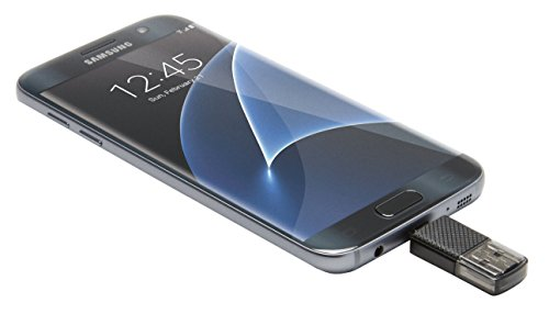 PNY 128GB microSD Card Elite 85MB/s, U1 with OTG Reader (P-OTGCR128MSC3-GE)