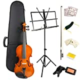 Windsor 4 Violin Super Kit, includes Case, Bow, 2xRosin 2X Bridge, spare Strings