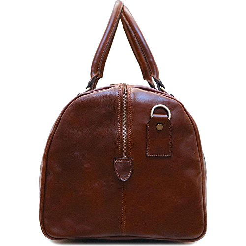 Super Tuscan Leather Duffle Travel Bag Model #1 by Floto (Image #3)